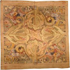 An Art Deco rug designed by Frank Brangwyn BB4341