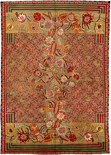 A French Art Deco rug designed by Jules Coudyser BB1263