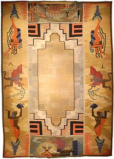 A Scandinavian rug BB4640