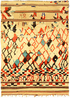 A Moroccan Rug BB5143
