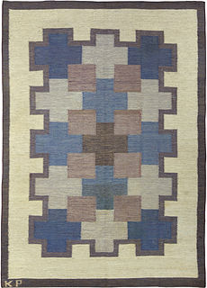 A Swedish Rug by K.P. BB5353