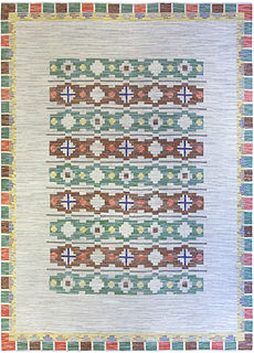 A Swedish Flat weave Rug BB5277