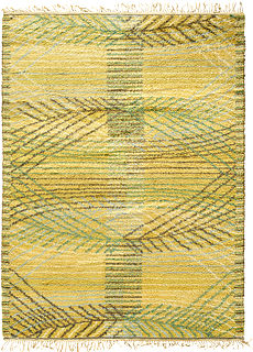 A Swedish Pile Rya Rug by Marta Maas-Fjetterstrom BB5209