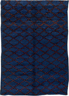 A Vintage Moroccan Rug BB5484