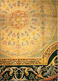 A Spanish Savonnerie carpet BB2701