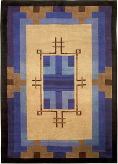 A French Deco Rug BB5010