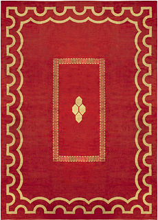 A French Deco Rug BB4974