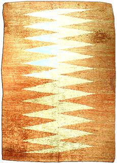 A Deco rug BB1943