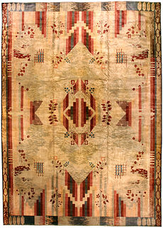 A French Art Deco carpet BB4580