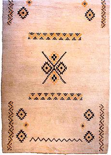 A Moroccan rug BB3543