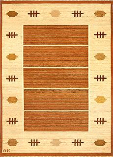 A Swedish Flat Woven rug