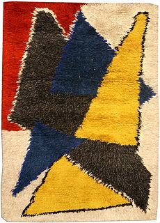 A Scandinavian rug BB4508