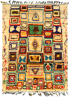A Moroccan Rug BB5145