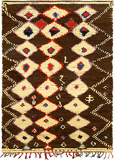 A Moroccan Rug BB5137