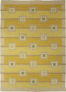 A Swedish Rug by Lans Hemslojd Irma Kronlund BB5302