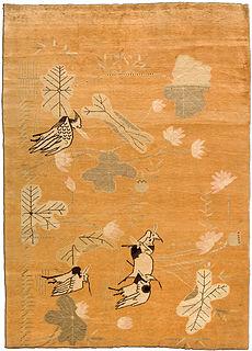 A Samarkand (Khotan) rug BB4391