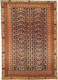 A Samarkand (Khotan) rug BB4349