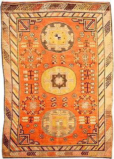 A Samarkand (Khotan) carpet BB3957