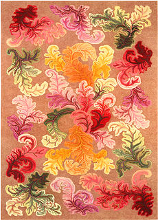 A hooked rug BB4482