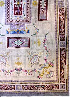 A Spanish Savonnerie rug BB2786