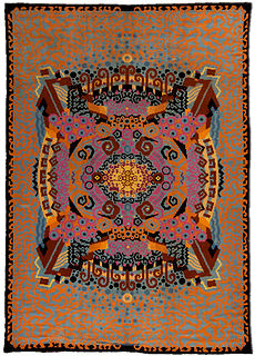 A French Art Deco rug BB4730