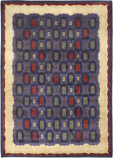 A French Deco Rug by Paule Leleu BB5009