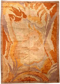 An Art Deco rug by Renee Kinsbourg BB4546