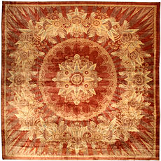 An Indian Deco rug BB4504