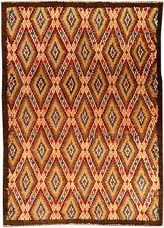 A Vintage Moroccan rug BB4550