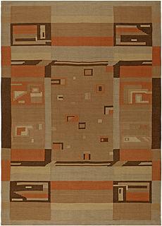 A Scandinavian rug BB3400