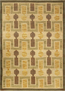 A Swedish Flat Weave Rug BB4921