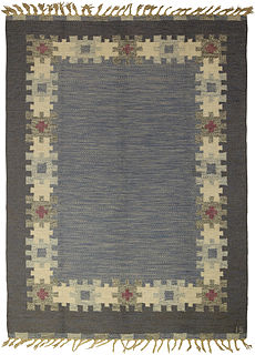 A Swedish Rug by I.S. BB5321