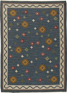 A Swedish Flat Weave Rug BB5454