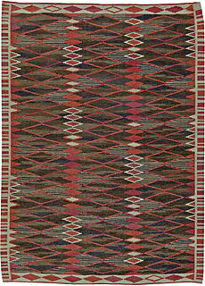 A Swedish Flat Weave Rug BB5468