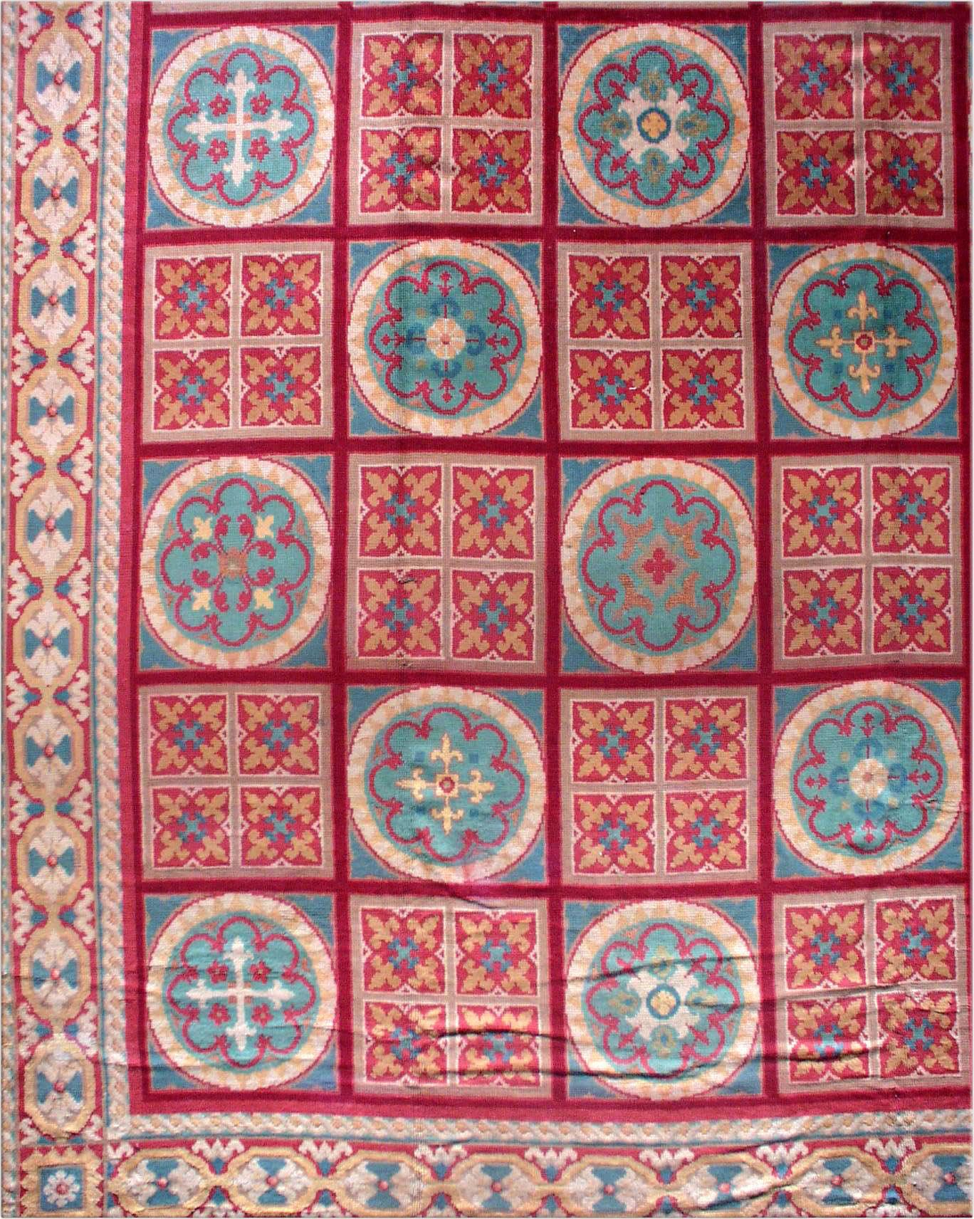 Spanish rug - Vintage Rug - BB0480 by Doris Leslie Blau