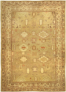 An Indian Amritsar Rug BB5008