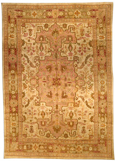 An antique Indian Amritsar rug BB4468
