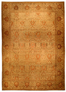 An Indian Amritsar rug BB4523
