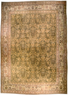 An Indian Amritsar rug BB4597