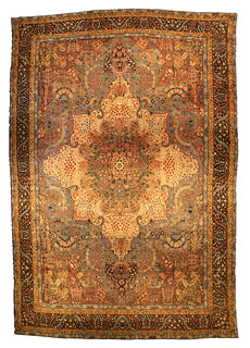 A Persian Kirman rug BB4419