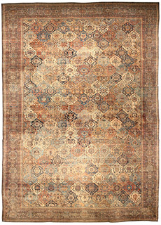 A Persian Kirman rug BB4644