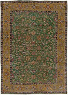 Antique Persian Tabriz Rug 13x10 BB5464