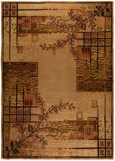 A French Art Deco rug BB5427