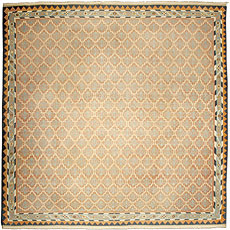 An Indian Dhurrie rug