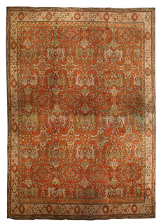 An English Axminster carpet BB1796