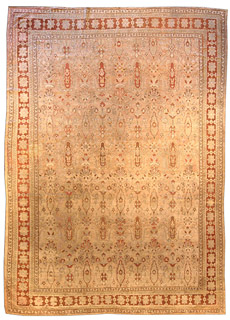 An Indian Amritsar carpet