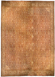 An antique Indian Amritsar carpet BB4578