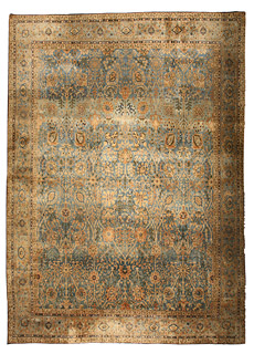 An Indian rug (size adjusted) BB4682