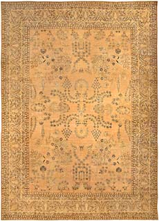A Persian Kirman rug BB4100