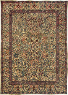 A Persian Kirman Rug BB5079